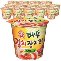 오뚜기 컵누들 김치 잔치국수 41g